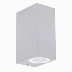 Уличный настенный светильник Ideal Lux Up AP2 Bianco