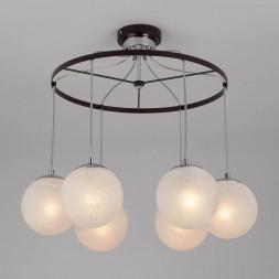 Подвесной светильник Eurosvet 70069/6 хром/черный