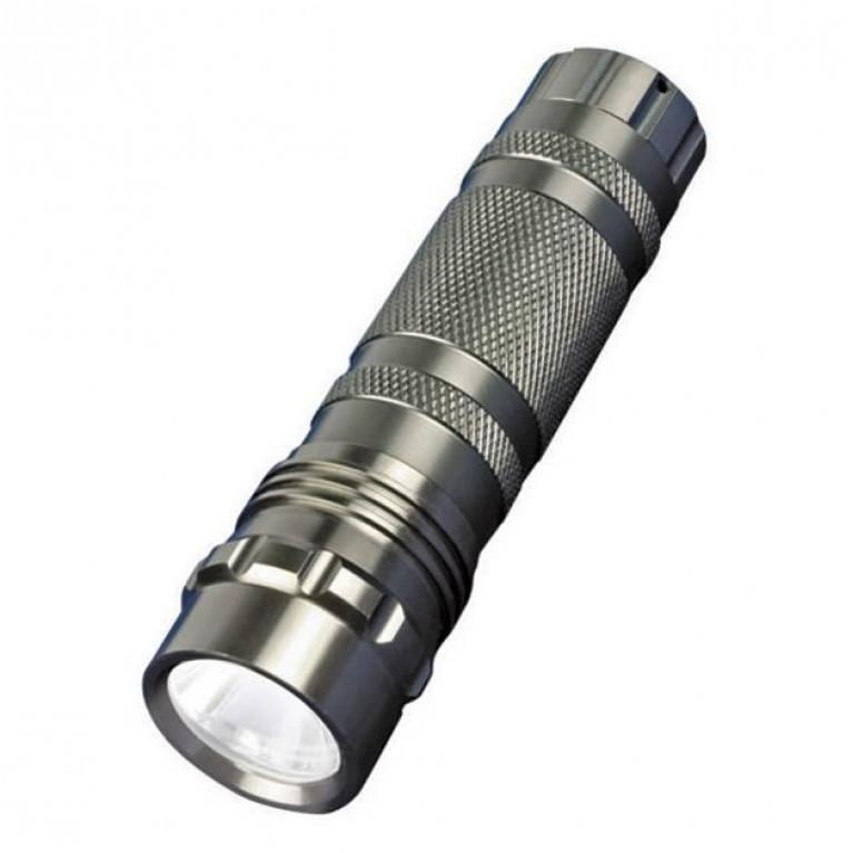 Ручной светодиодный фонарь Uniel (05623) от батареек 60 лм S-LD023-C Silver