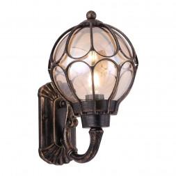 Уличный настенный светильник Maytoni Via O024WL-01G