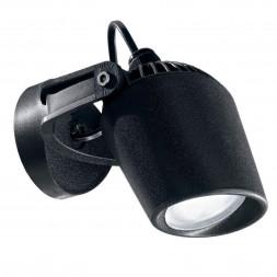 Уличный настенный светодиодный светильник Ideal Lux Minitommy AP Nero 4000K