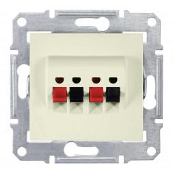 Аудиорозетка х2 Schneider Electric Sedna SDN5400147