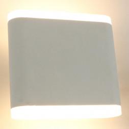 Уличный настенный светодиодный светильник Arte Lamp A8153AL-2WH
