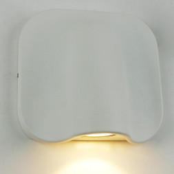 Уличный настенный светодиодный светильник Arte Lamp A8503AL-1WH