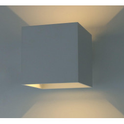 Уличный настенный светодиодный светильник Arte Lamp Rullo A1414AL-1WH