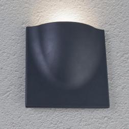Уличный настенный светодиодный светильник Arte Lamp Tasca A8506AL-1GY
