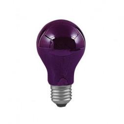 Лампа накаливания диммируемая Е27 75W ультрафиолет 59070