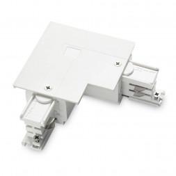 Коннектор L-образный правый Ideal Lux Link Trim L-Connector Right White
