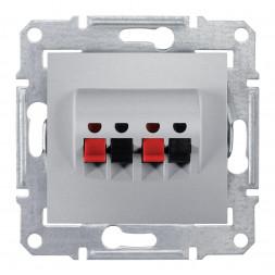 Аудиорозетка х2 Schneider Electric Sedna SDN5400160