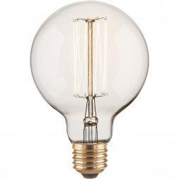 Лампа накаливания диммируемая E27 60W прозрачная 4690389082160