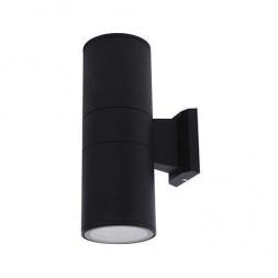 Уличный настенный светильник Horoz Manolya черный 075-008-0003