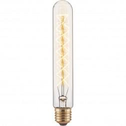 Лампа накаливания диммируемая E27 60W прозрачная 4690389082146
