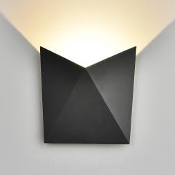 Уличный настенный светодиодный светильник Elektrostandard 1517 Techno LED Batterfly 4690389108907