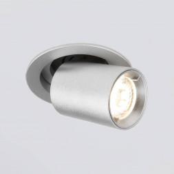 Встраиваемый светодиодный спот Elektrostandard 9917 LED 10W 4200K серебро 4690389161742