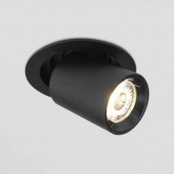 Встраиваемый светодиодный спот Elektrostandard 9917 LED 10W 4200K черный матовый 4690389161681