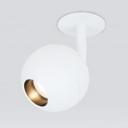Встраиваемый светодиодный спот Elektrostandard Ball 9925 LED 8W 4200K белый 4690389169809
