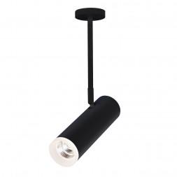 Светодиодный спот Elektrostandard DLS022 9W 4200K черный матовый 4690389144318