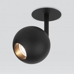 Встраиваемый светодиодный спот Elektrostandard Ball 9926 LED 12W 4200K черный 4690389169854