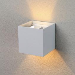 Уличный настенный светодиодный светильник Elektrostandard 1548 Techno LED Winner белый 4690389106286