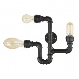 Бра Ideal Lux Plumber AP3 Nero
