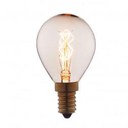 Лампа накаливания E14 25W прозрачная 4525-S
