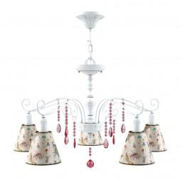 Подвесная люстра Lamp4you Provence E4-05-WM-LMP-O-14-CRL-E4-05-PK-DN