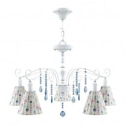 Подвесная люстра Lamp4you Provence E4-05-WM-LMP-O-17-CRL-E4-05-GB-DN