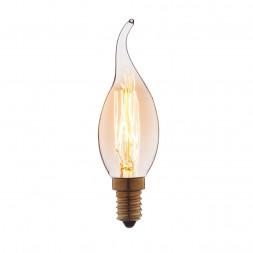 Лампа накаливания E14 40W прозрачная 3540-GL