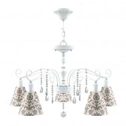 Подвесная люстра Lamp4you Provence E4-05-WM-LMP-O-1-CRL-E4-05-TR-DN