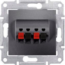 Аудиорозетка х2 Schneider Electric Sedna SDN5400170