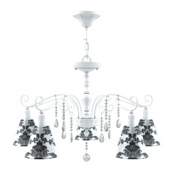 Подвесная люстра Lamp4you Provence E4-05-WM-LMP-O-2-CRL-E4-05-TR-DN