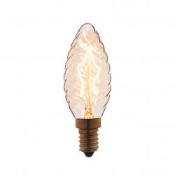 Лампа накаливания E14 40W прозрачная 3540-LT