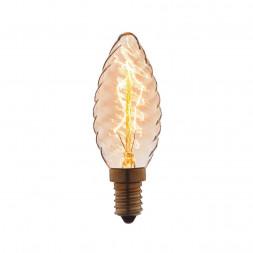 Лампа накаливания E14 40W прозрачная 3560-LT