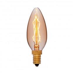 Лампа накаливания E14 40W золотая 052-085