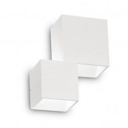Уличный настенный светодиодный светильник Ideal Lux Rubik AP2 Bianco