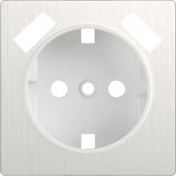 Накладка для USB розетки перламутровый рифленый WL13-USB-CP 4690389124471