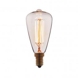 Лампа накаливания E14 60W прозрачная 4860-F