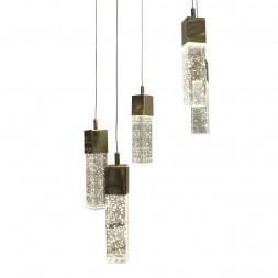 Подвесная светодиодная люстра Kink Light Аква 08510-5A,33(3000К)