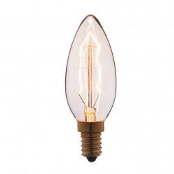 Лампа накаливания E14 60W прозрачная 3560