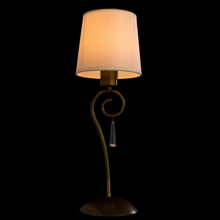 Настольная лампа Arte Lamp Carolina A9239LT-1BR