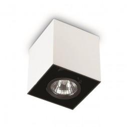Потолочный светильник Ideal Lux Mood PL1 Small Square Bianco