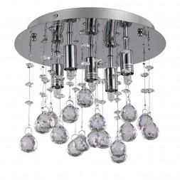 Потолочный светильник Ideal Lux Moonlight PL5 Cromo