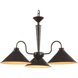 Подвесная люстра Arte Lamp Cone A9330LM-3BR