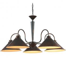 Подвесная люстра Arte Lamp Cone A9330LM-5BR