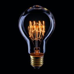 Лампа накаливания E27 40W прозрачная VG6-A75A3-40W 5930