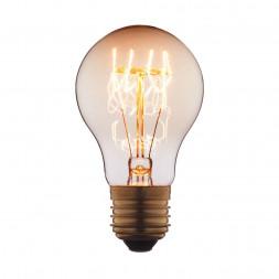 Лампа накаливания E27 40W прозрачная 7540-T