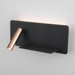 Светодиодный спот Elektrostandard Fant R LED чёрный/золото MRL LED 1113 4690389168390