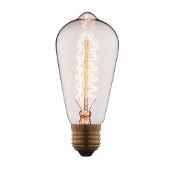 Лампа накаливания E27 40W прозрачная 6440-S