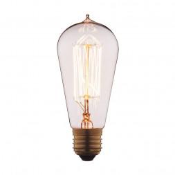 Лампа накаливания E27 40W прозрачная 6440-SC