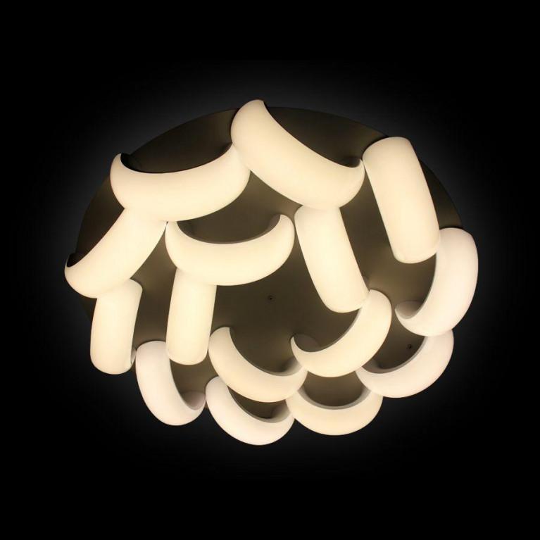 Потолочная светодиодная люстра Ambrella light Orbital Cloud FC18/15 WH 300W D1040